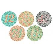 Αχρωματοψία & Δυσχρωματοψία